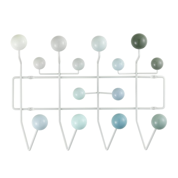 Hang it all coat rack by Vitra in various shades of white
