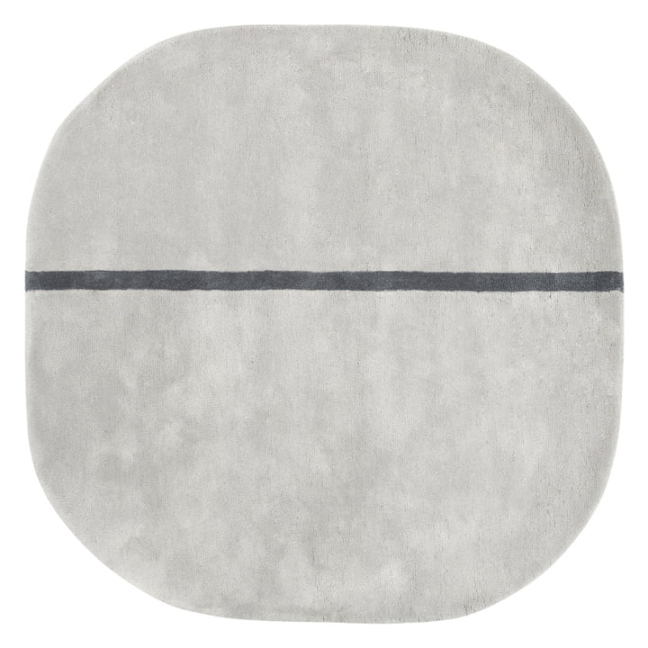 Normann Copenhagen - Oona Carpet, 140 x 140 cm, grey