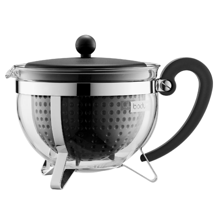 Bodum - Chambord Plastic Tea Maker, black, 1.5 l