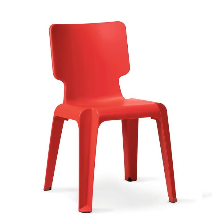 Authentics - Wait chair, red