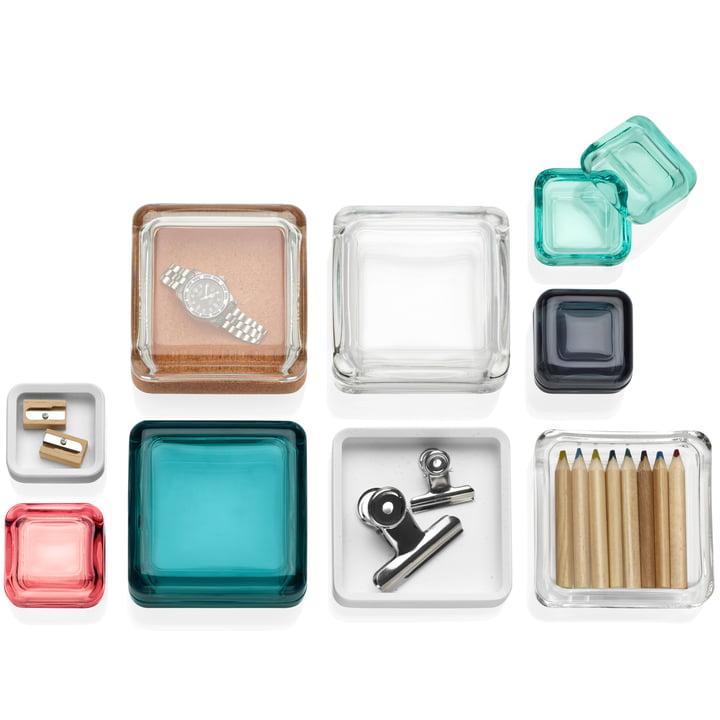 Iittala Vitriini boxes - group for men