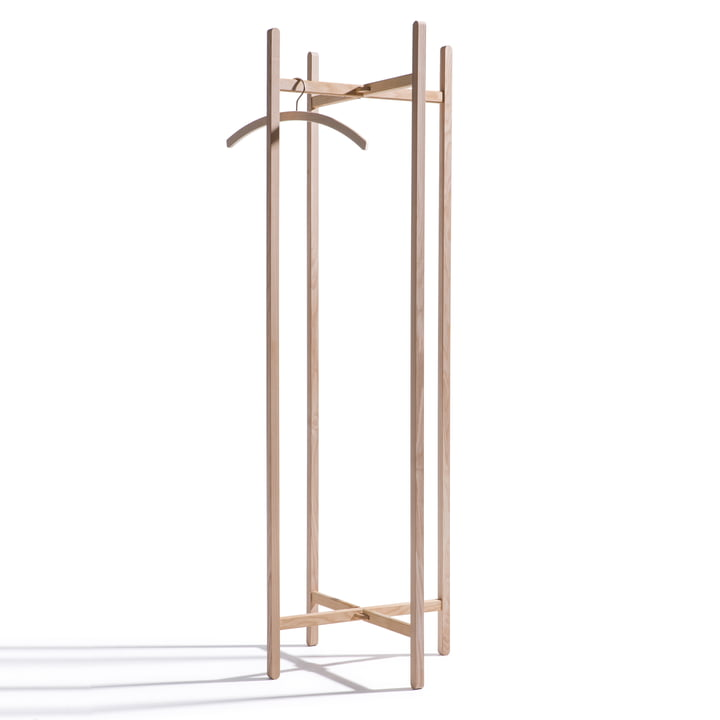Side by Side, New Hang On coat rack - knock-out