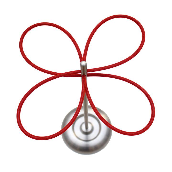 roomsafari - lucky clover umbrella stand - red