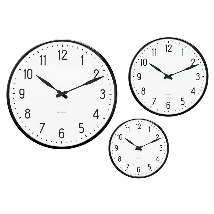 Rosendahl Timepieces - AJ Station wall clock - group, sizes