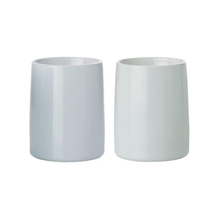 Stelton - Emma Thermo Mugs 0.25 l, set of 2, light blue / mint