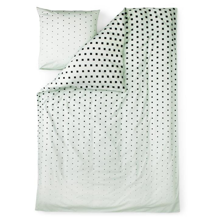 Normann Copenhagen - Cube bed linen, Mint / single image