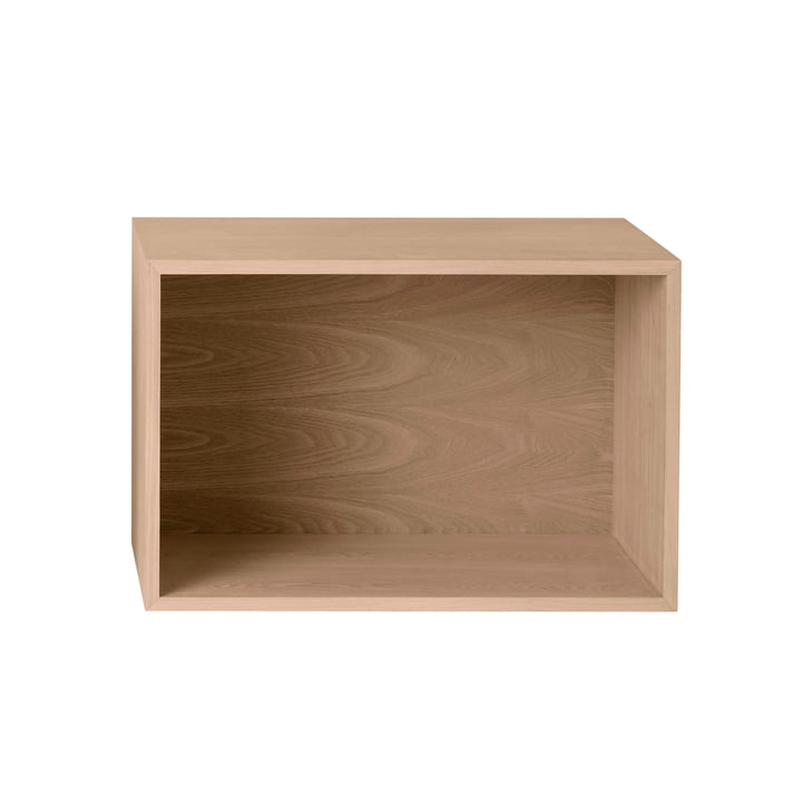 Muuto - Stacked oak with backwall, large