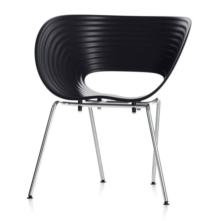 Vitra - Chair Tom Vac, basic dark