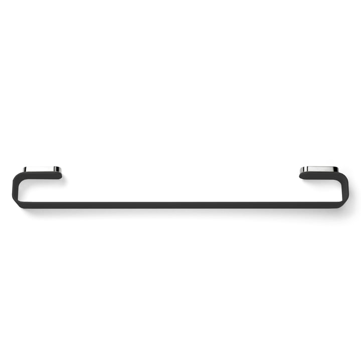 Menu - Towel holder, black - top