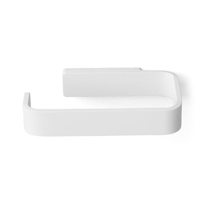 Menu - Toilet paper holder, white - top