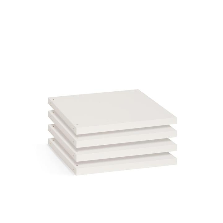 Flötotto - Shelving System 355 - shelf board S, white
