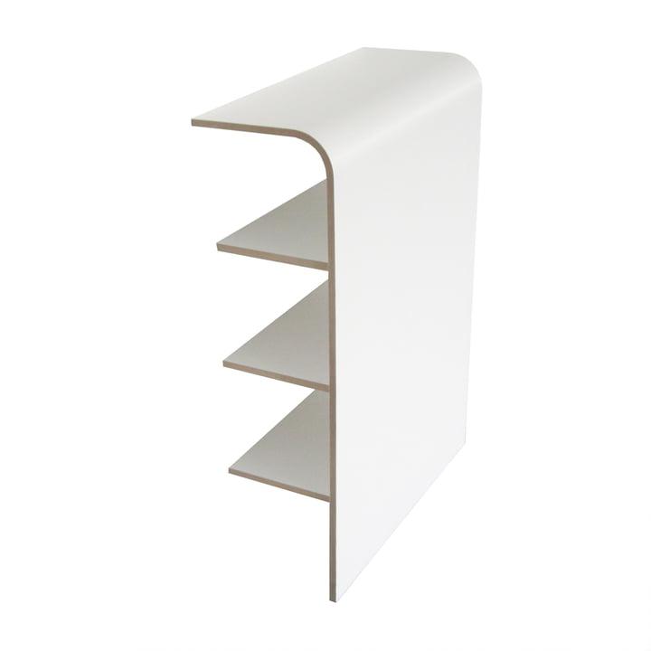 Platz Shelf by Tojo in white
