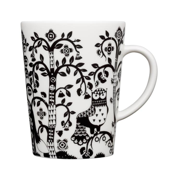 Iittala - Taika - black - cup with handle, 0.4 l