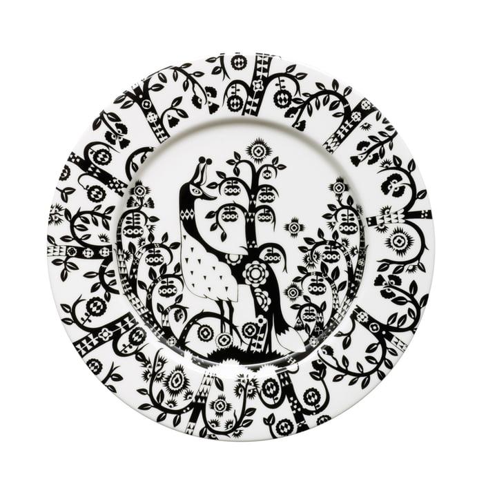 Iittala - Taika - black - flat plate, Ø 22 cm
