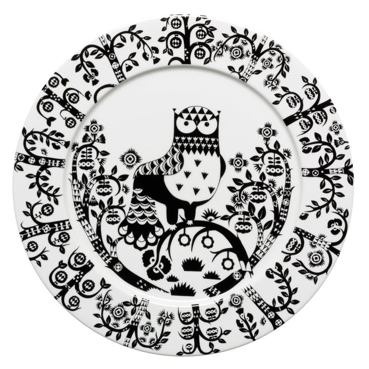 Iittala - Taika - black - flat plate, Ø 30 cm