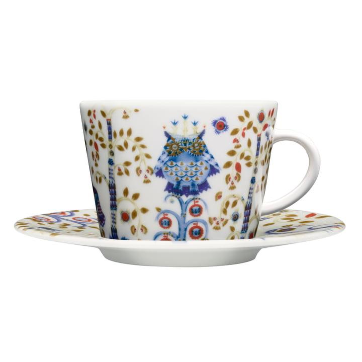 Iittala - Taika - white - coffee cup with saucer