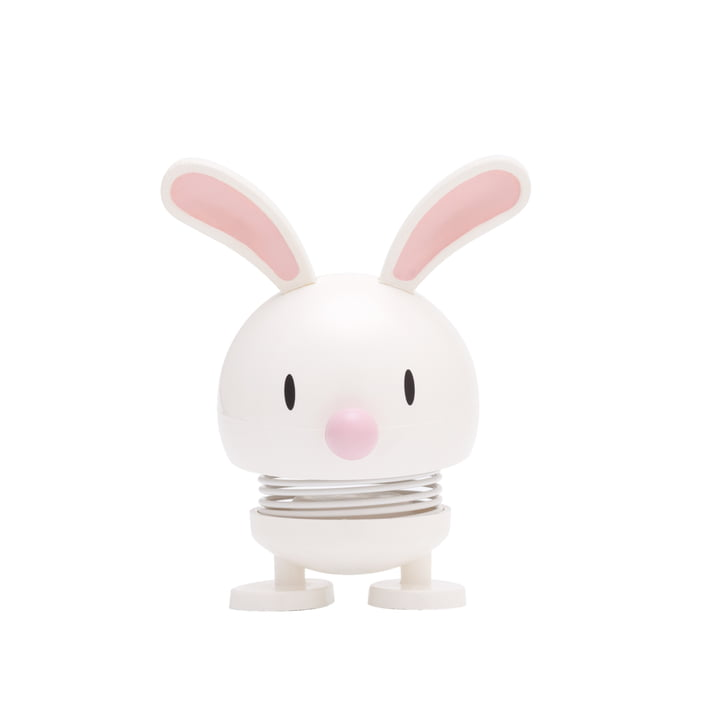 Hoptimist - Bunny Bimble, white, small