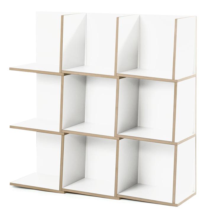 Jonas Jonas - Tri module shelf, white