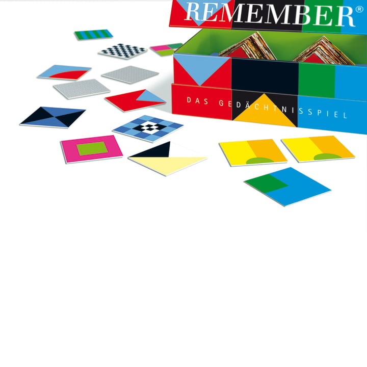 Remember - Memory game, Signals - box, with cards