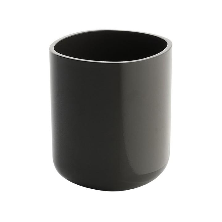 Alessi - Birillo toothbrush mug, dark grey