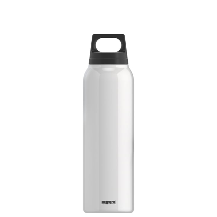 Hot & Cold Thermos bottle 0.5 l from Sigg in white