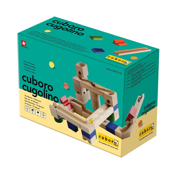 cuboro - cugolino basic set, packaging
