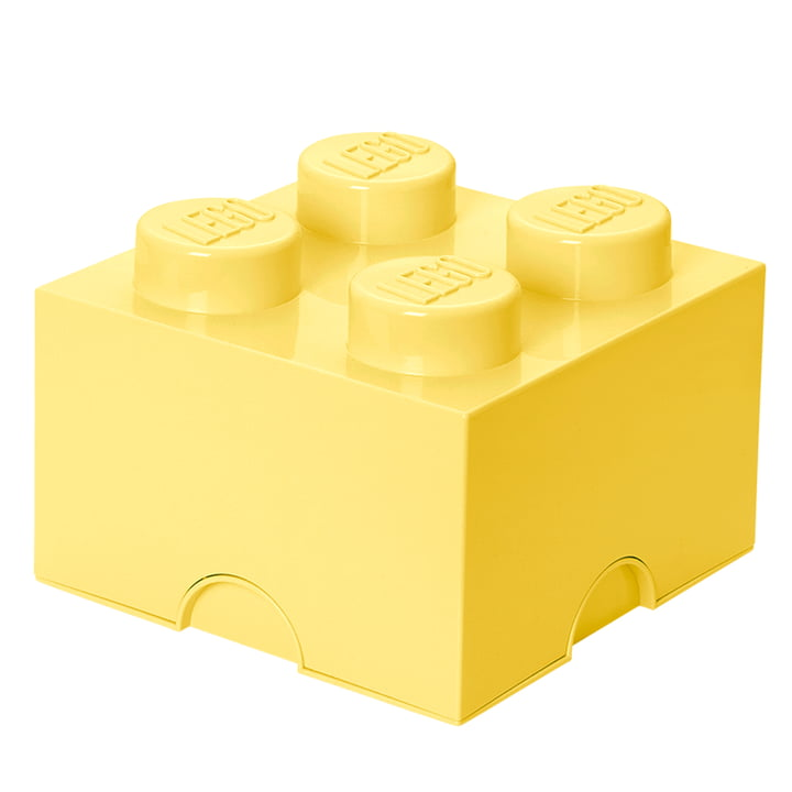 Storage Brick 4 from Lego in Cool Yellow