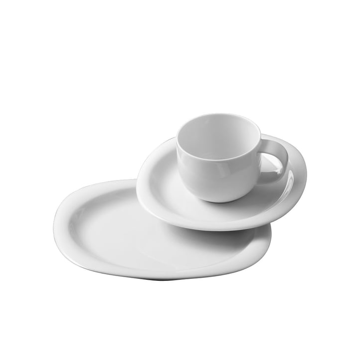 The Suomi coffee set from Rosenthal consists of 18 pieces