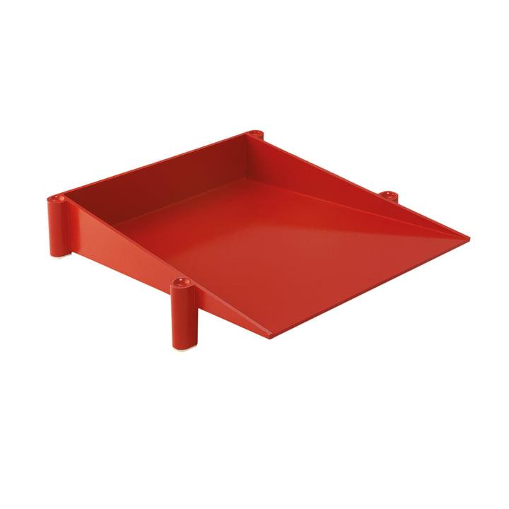 Danese Milano - Sumatra desk tray, red