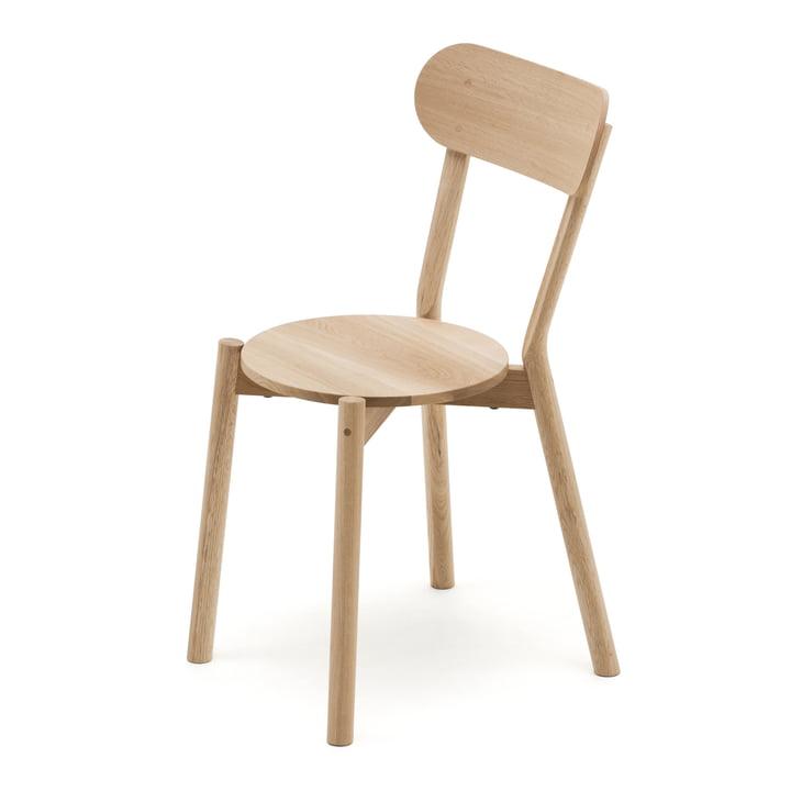 The Karimoku New Standard - Castor chair in natural finish