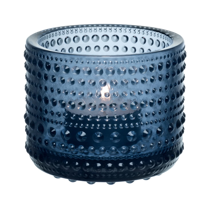 Kastehelmi Votive 64 mm from Iittala in rain blue