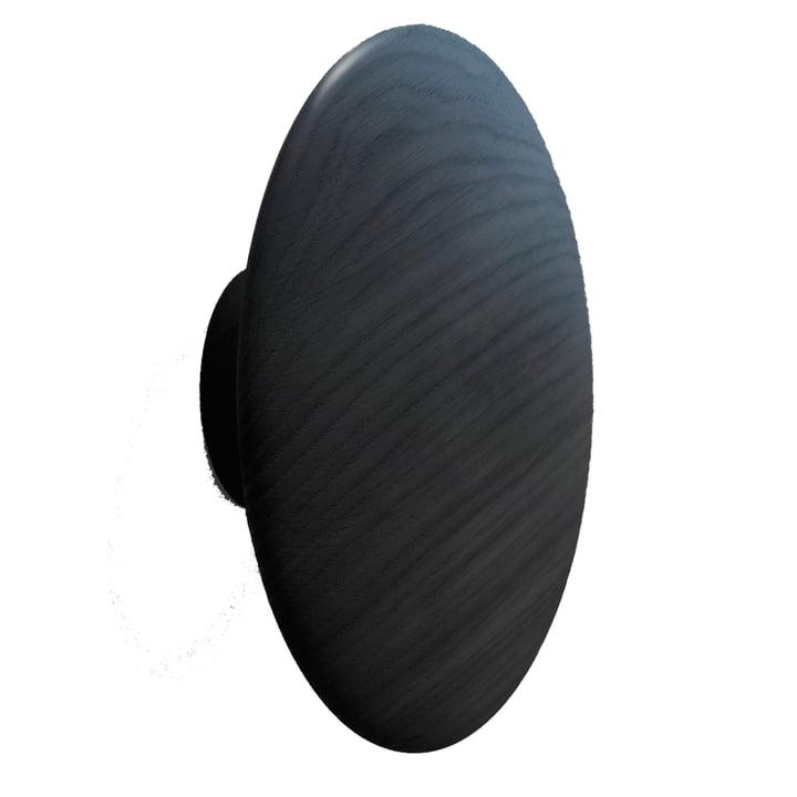 "Muuto - Wall hook ""The Dots"" single, black, Large"