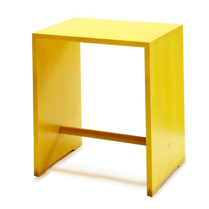 wb form - Ulmer Stool, lemon yellow