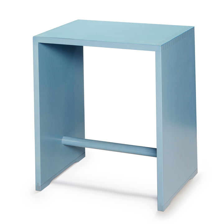 wb form - Ulmer Stool, sky blue