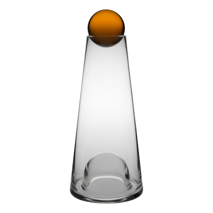 Design House Stockholm - Fia Carafe, clear / amber