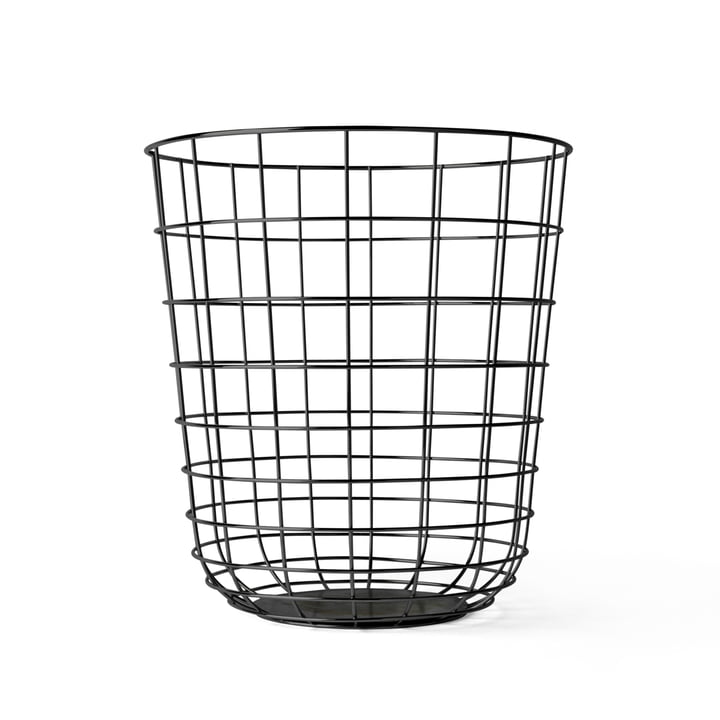 Wire Bin from Menu in black