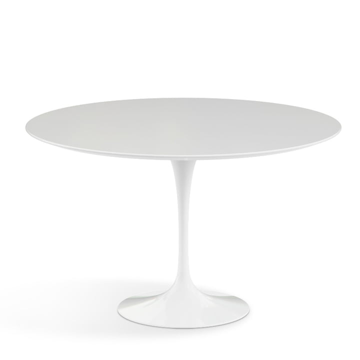 Knoll - Saarinen table Ø 120 cm, white