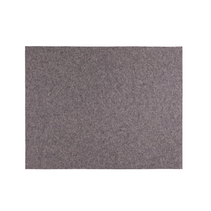 Place Mat table set, dark grey by Hay