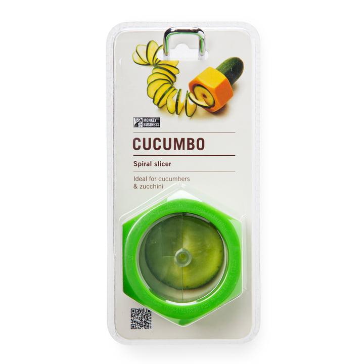 Monkey Business - Cucumbo Vegetables Peeler, green - package