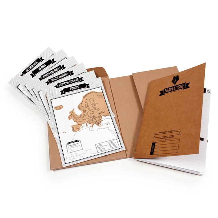 Luckies - Travelogue Journal