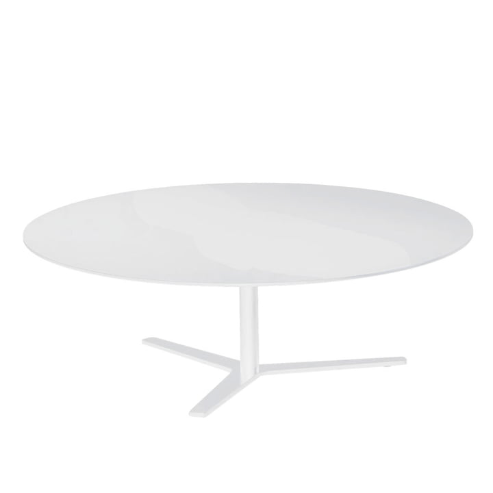 The Tre 90 Coffee Table 30 cm of Mox in White