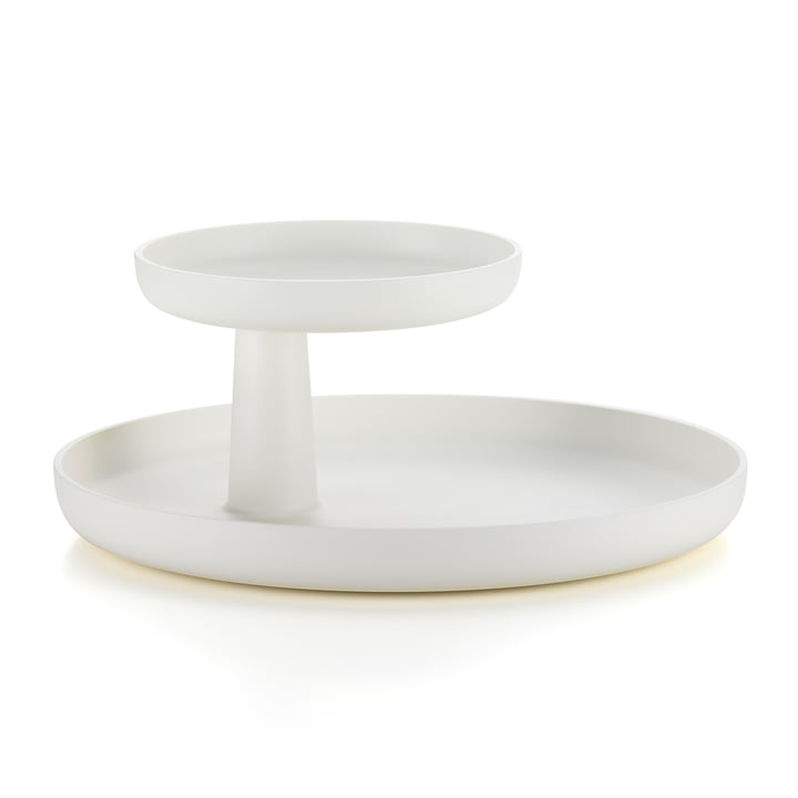 Rotary Tray from Vitra in white