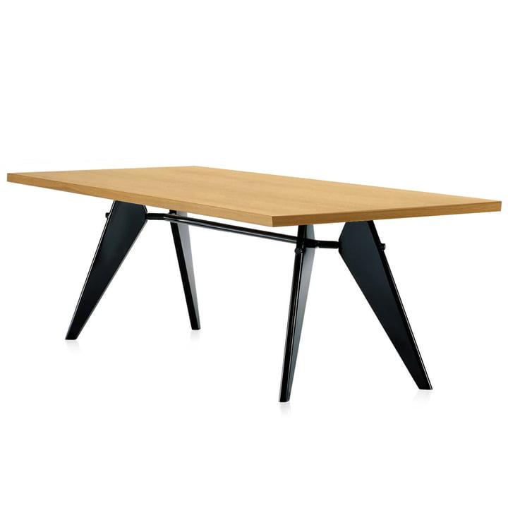 Vitra - Em Table, 240 cm, oak natural / black