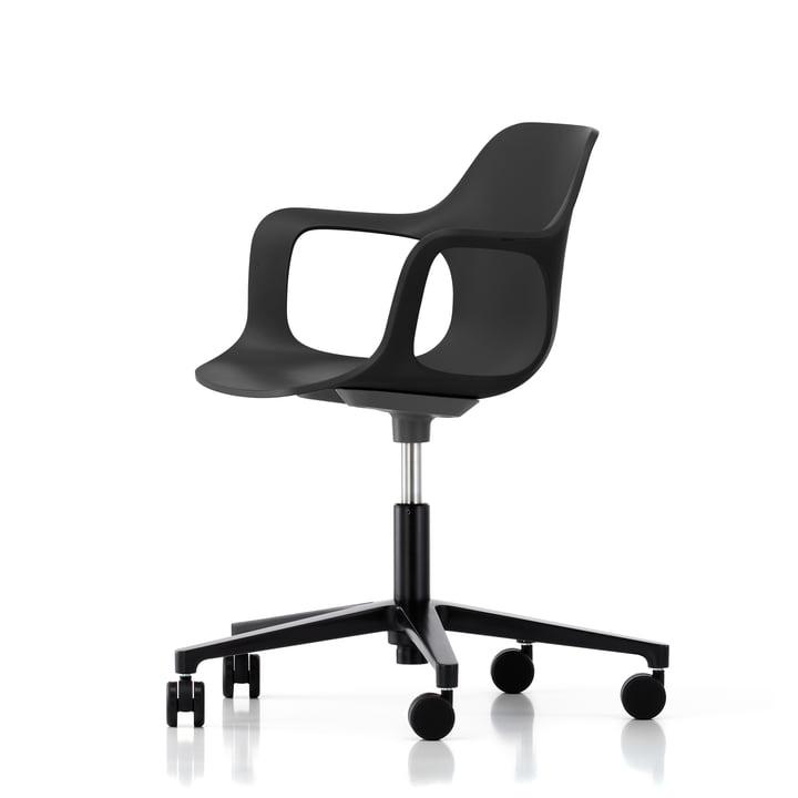 Hal Studio office swivel chair by Vitra in black