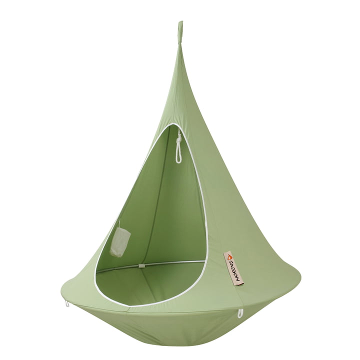 Single Hanging chair, leaf green from Cacoon