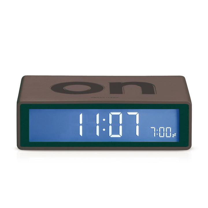 Lexon - Flip LCD-alarm clock, dark grey