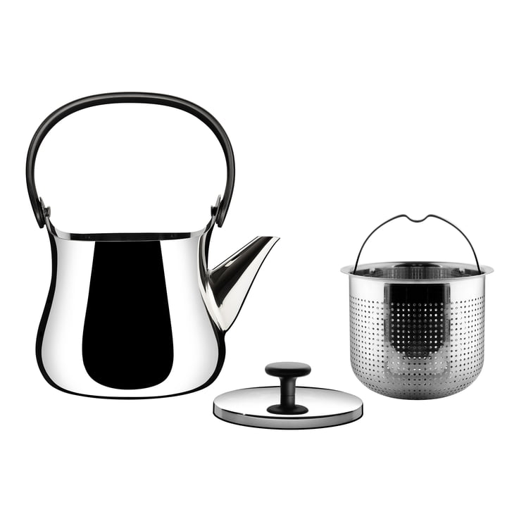 Alessi - Cha kettle / teapot, individual parts