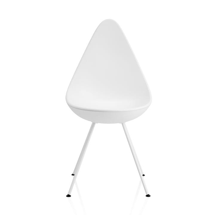 Fritz Hansen - Drop Chair, white