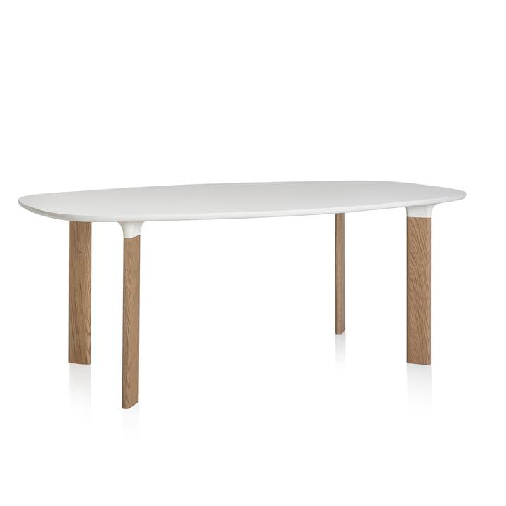 Fritz Hansen - Analog Table white / oak
