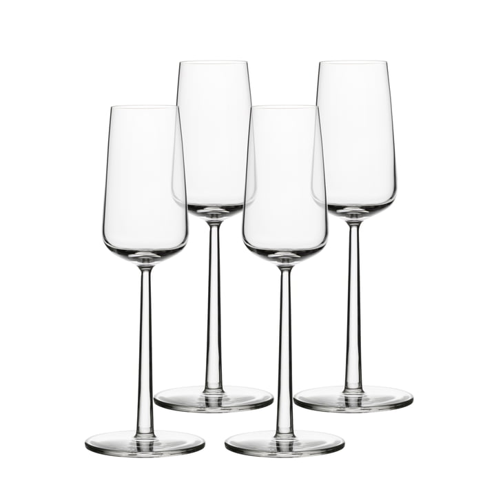 Essence champagne glass 21 cl (set of 4) from Iittala